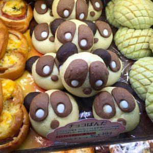 An-pan, Japanese sweet rolls filled with red bean paste