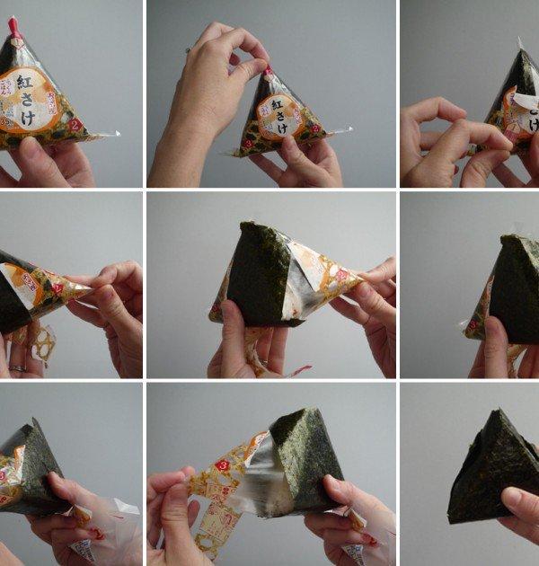 The art of opening an onigiri - be onigiri savvy!
