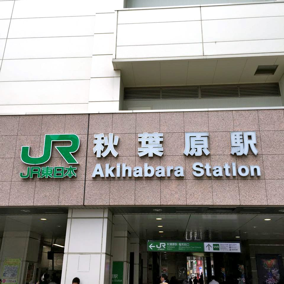 Akihabara shopping district specializing in electronic goods