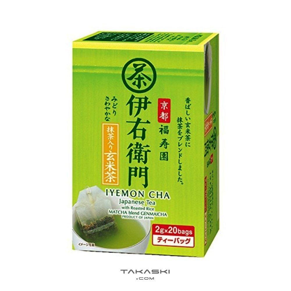 Kyoto Ujuen Genmaicha Tea Bags With Matcha Iyemon By Suntory 20