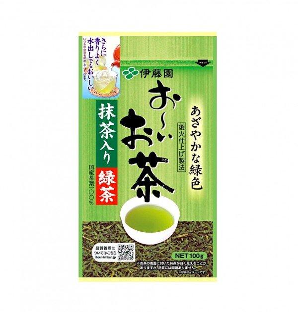 Itoen Ryokucha Green Tea Leaf with Matcha 100g