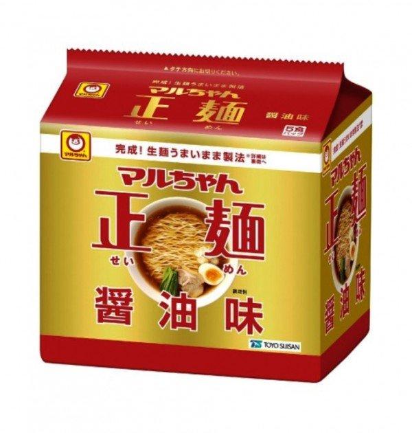 Maruchan Seimen Japanese Instant Ramen (noodles) 5 Servings - Soy Sauce Taste