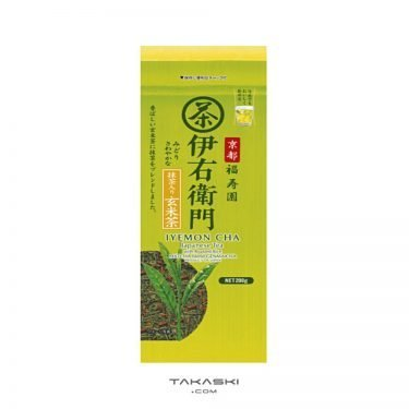 Kyoto Fukujuen Genmaicha Tea Leaf with Matcha 200g - Iyemon by Suntory