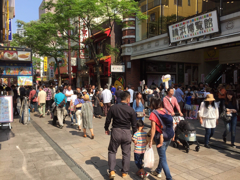 Main street in Chinatown