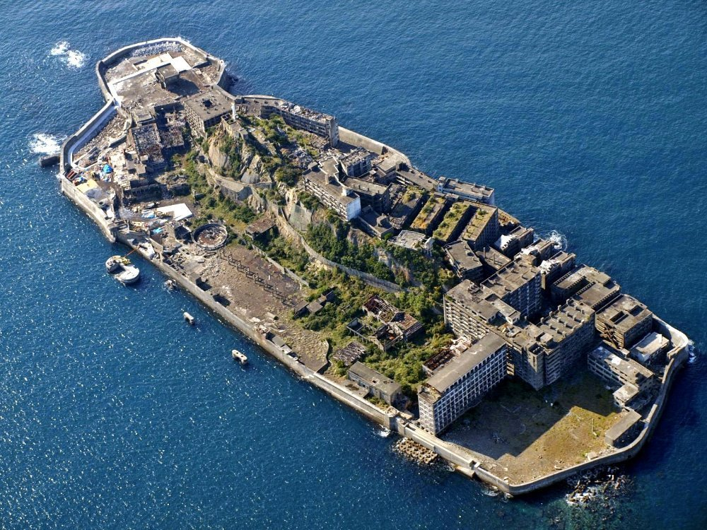 Battleship Island likely to be a new world heritage site in Japan