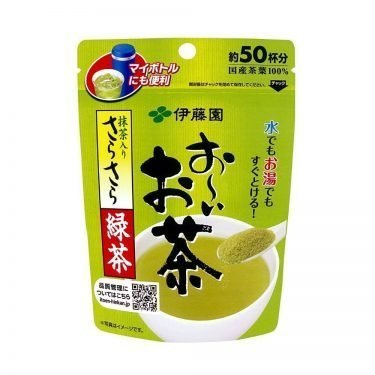 Japanese Green Tea Powder with Matcha 40g - Itoen Oi Ocha Sara Sara Matcha Ryokucha