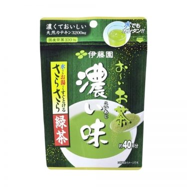 Japanese Instant Green Tea Extra Strong 32g - Itoen Oi Ocha Ryokucha with Matcha