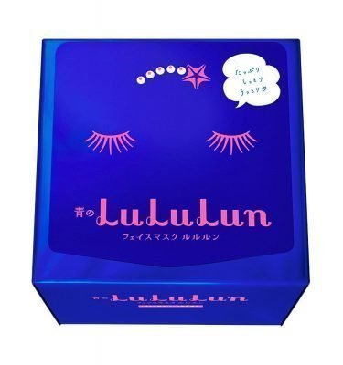 Lululun Face Mask Rich Moisture Type 32 Sheets Blue