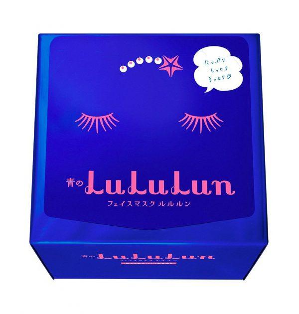 Lululun Face Mask Rich Moisture Type 32 Sheets Blue