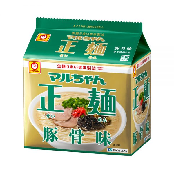 MARUCHAN Seimen Instant Ramen Noodles Tonkotsu Pork Made in Japan