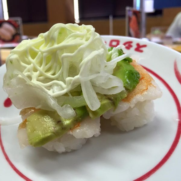 Never underestimate the quality of sushi train