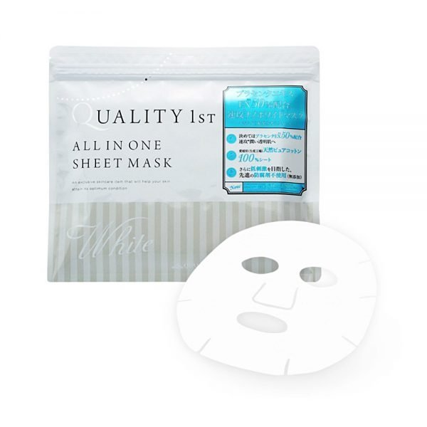 Quality First All in One Mask White 30 Sheets