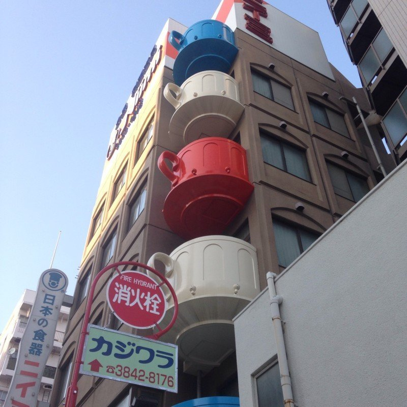 Kappabashi Street – the world largest cookware market