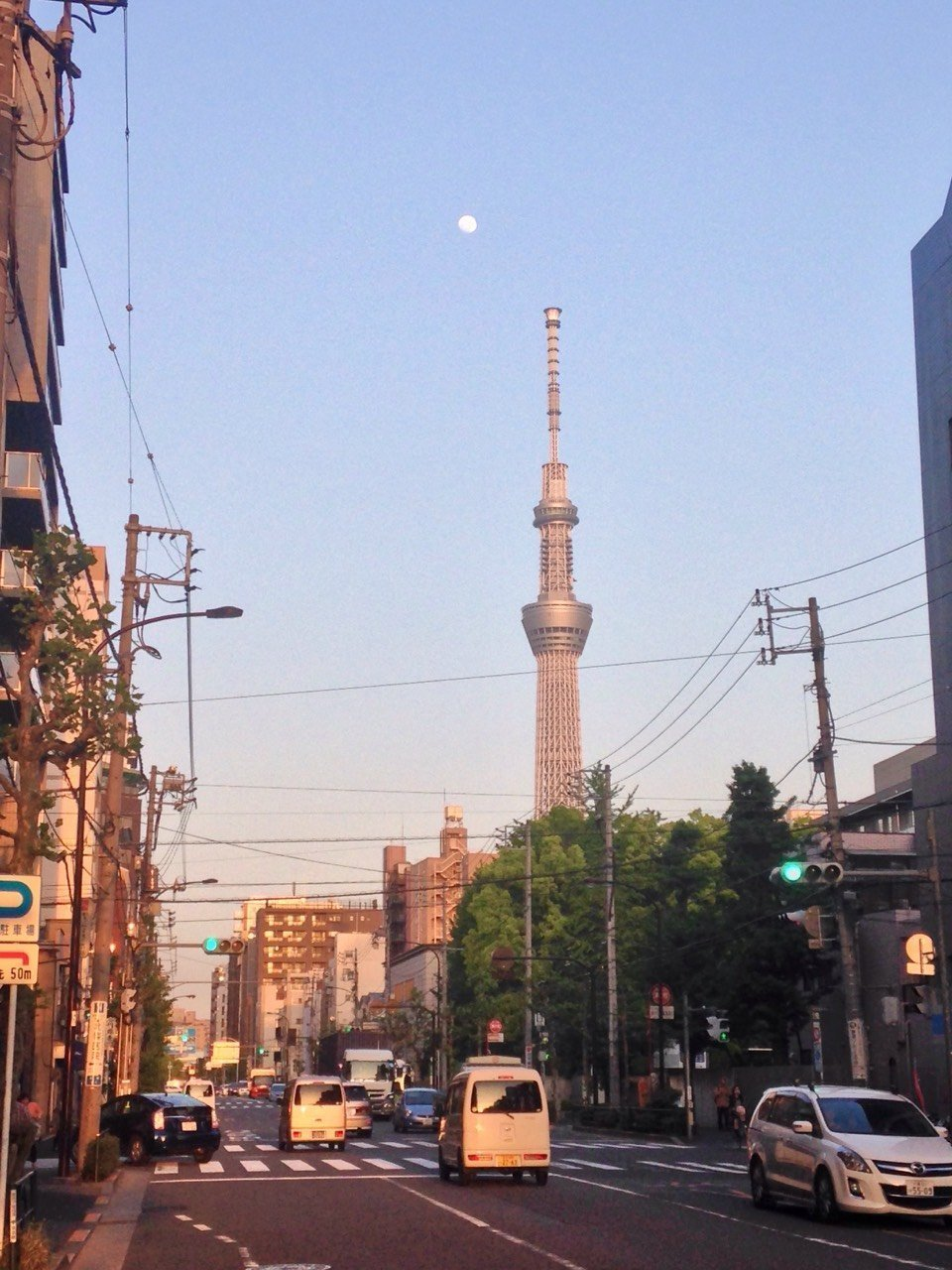 Tokyo Sky Tree is also a walking distance