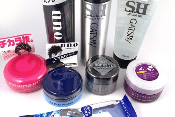 A recommended line-up of Japanese hairstyling products