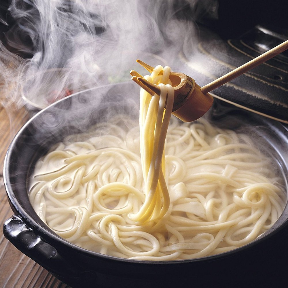 The art of udon (Japanese noodles)