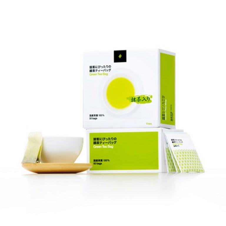HARADA Green Tea Bag 100% Japanese Shizuoka Tea Leaves