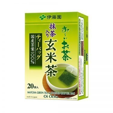 ITOEN Genmaicha Tea 20 Bags Oi Ocha Genmai with Match