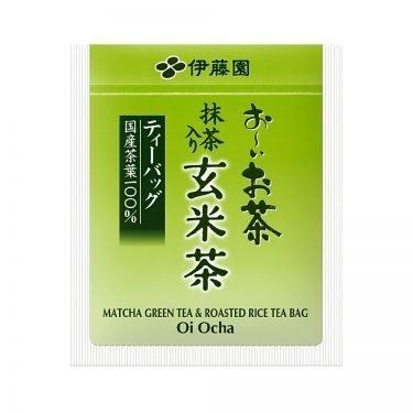 ITOEN Genmaicha Tea 20 Bags Oi Ocha Genmai with Matcha