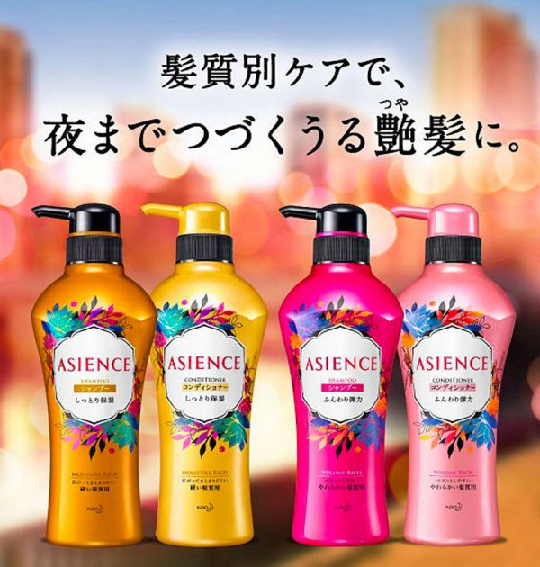 KAO Asience Inner Rich Moist Type Conditioner REFILL 340ml