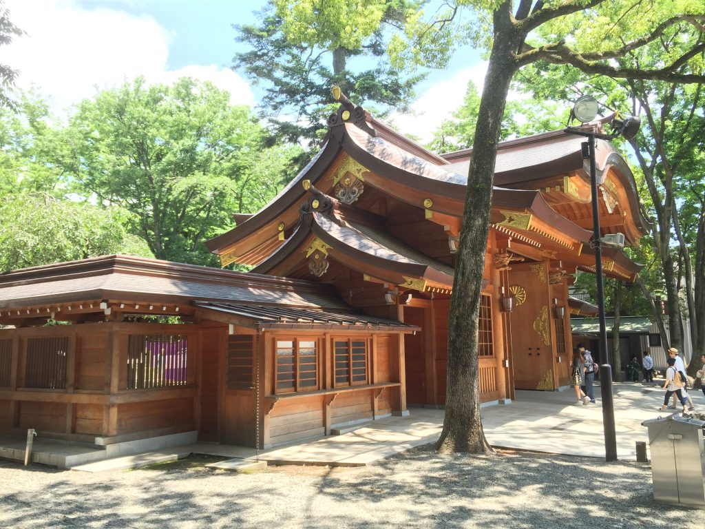 Okunitama Shrine near Fuchu Station