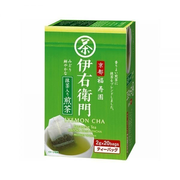 UJINOTSUYU Matcha Blend Sencha Tea Bags - Fukujuen Collaboration