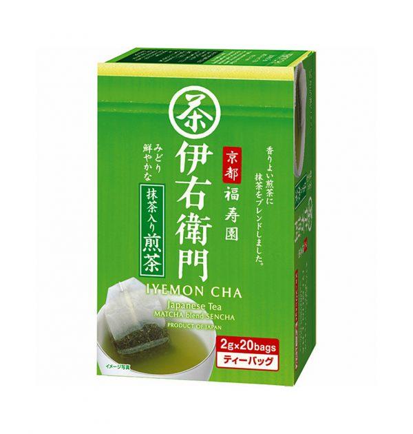 UJINOTSUYU Matcha Blend Sencha Tea Bags - Fukujuen Collaboration