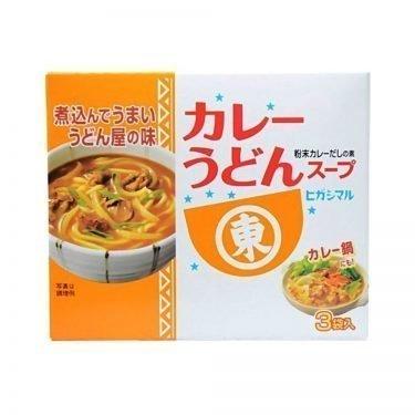 Higashimaru Curry Udon Soup Stock 17g x 3pcs