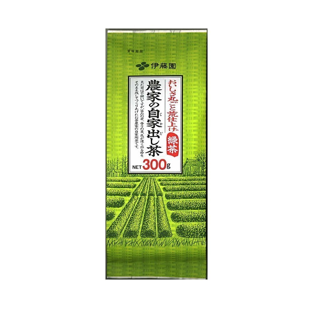 Itoen Noka no jikadashi cha - Japanese green tea leaf