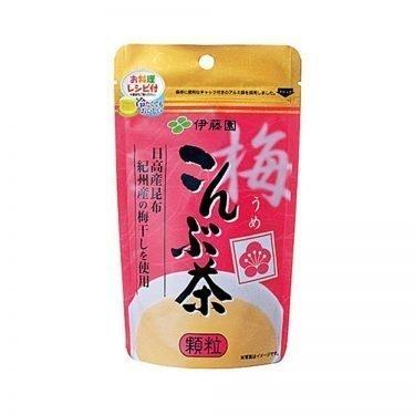Ume konbu cha (Plum kelp tea)