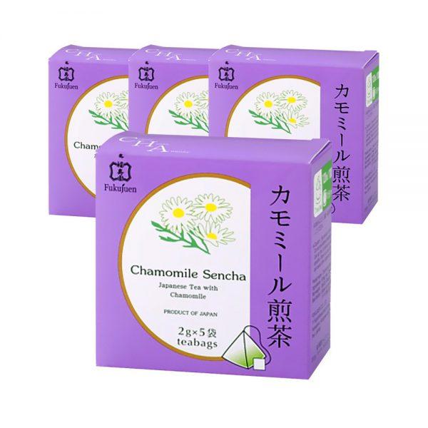 FUKUJUEN Camomile Flavoured Sencha Green Tea