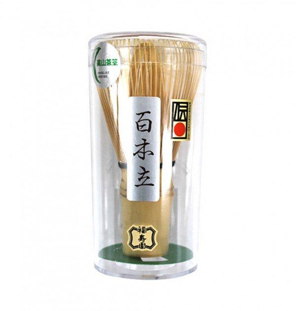 Chasen matcha whisk - Fukujuen Kyoto 100 tips
