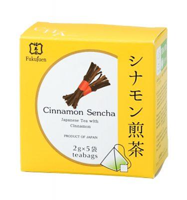 Cinnamon flavoured sencha green tea - Fukujuen Kyoto (2g x 5 bags)