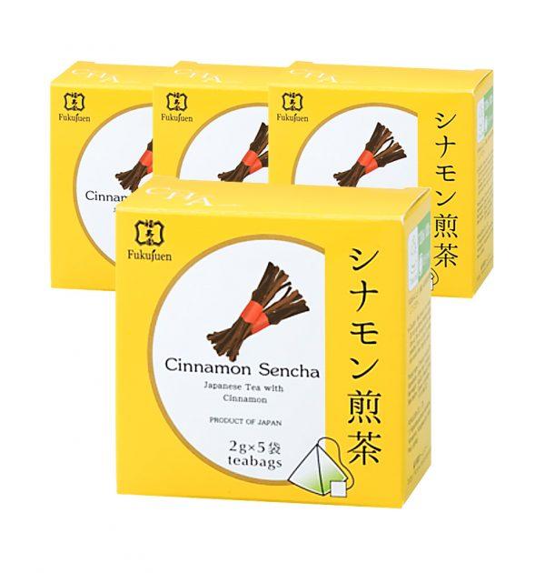 FUKUJUEN Cinnamon Flavoured Sencha Green Tea