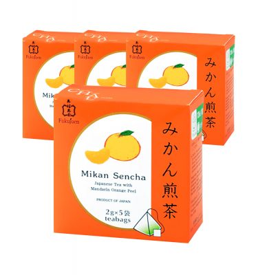 FUKUJUEN Mandarin Orange Flavoured Sencha Green Tea