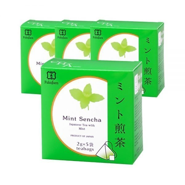 FUKUJUEN Mint Flavoured Sencha Green Tea