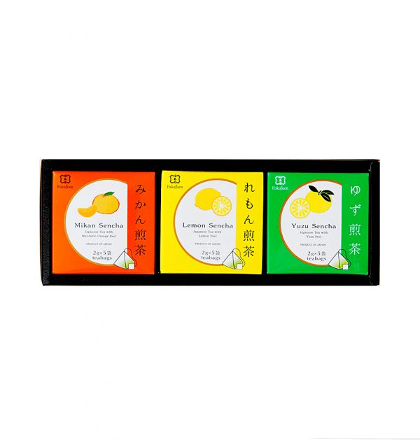 FUKUJUEN Sencha Green Tea Assorted box - 3 Flavours