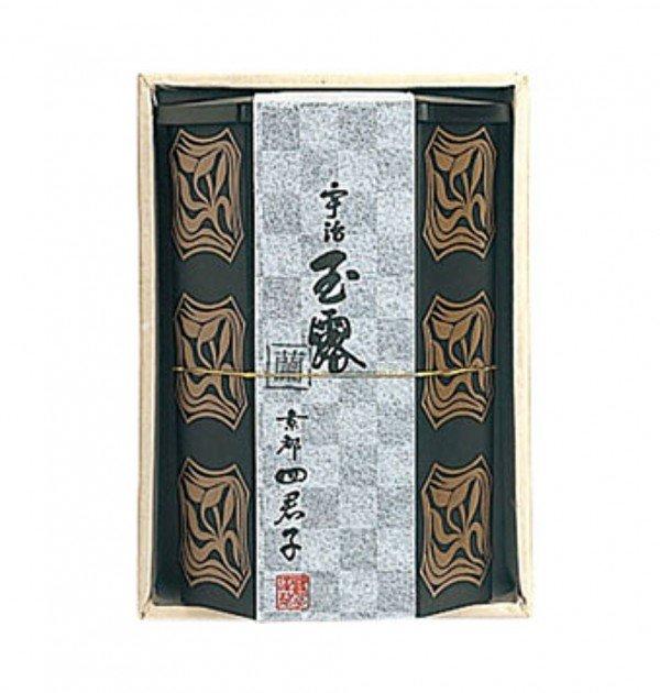 Gyokuro - Shikunshi Gyokuro Ran 100g special tea box