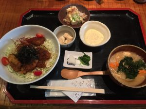 Teishoku Japanese Food Set