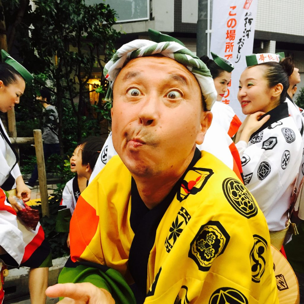 Acclaimed dancer, Koenji Awa Odori Festival 2015