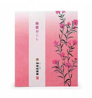 Kagurazaka Okoshi - Kinako (roasted soy flour) flavour 4 pcs2