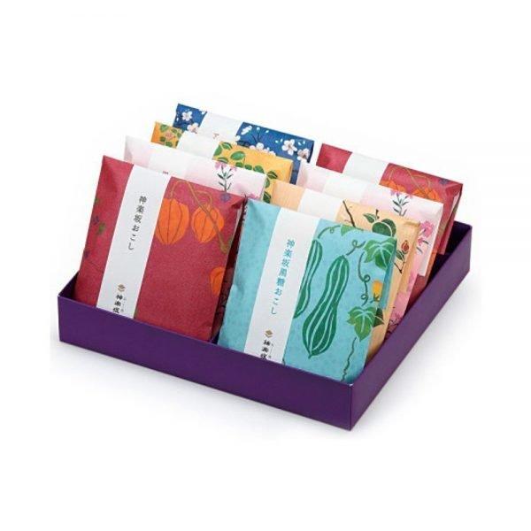Kagurazaka okoshi - 8 bags in a gift box