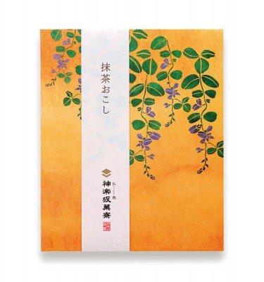 Kagurazaka okoshi - Matcha flavour 4pcs