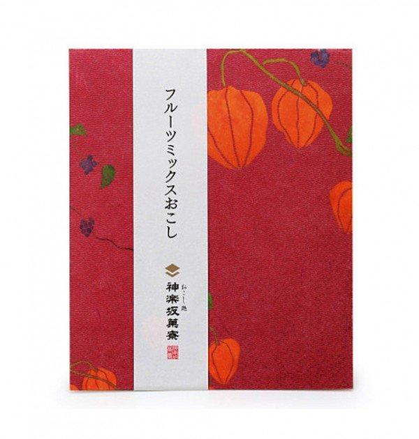 Kagurazaka okoshi - Mix fruit 4pcs