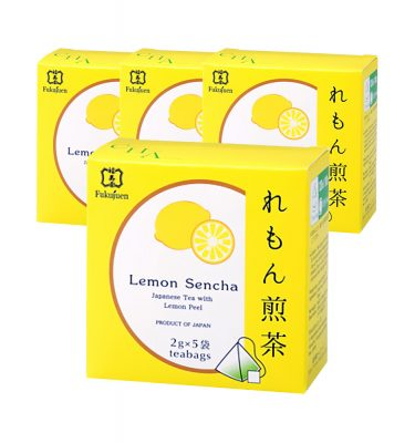 FUKUJUEN Lemon Flavoured Sencha Green Tea
