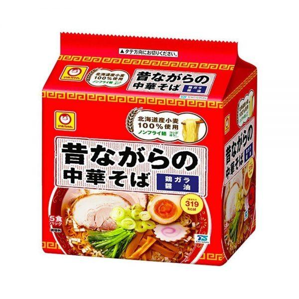 Maruchan Mukashinagarano chuka soba - Japanese instant noodles 5pcs
