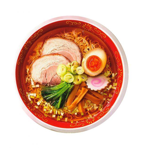 MARUCHAN Mukashinagarano Chuka Soba - Authentic Japanese Soy Flavor Instant Noodles