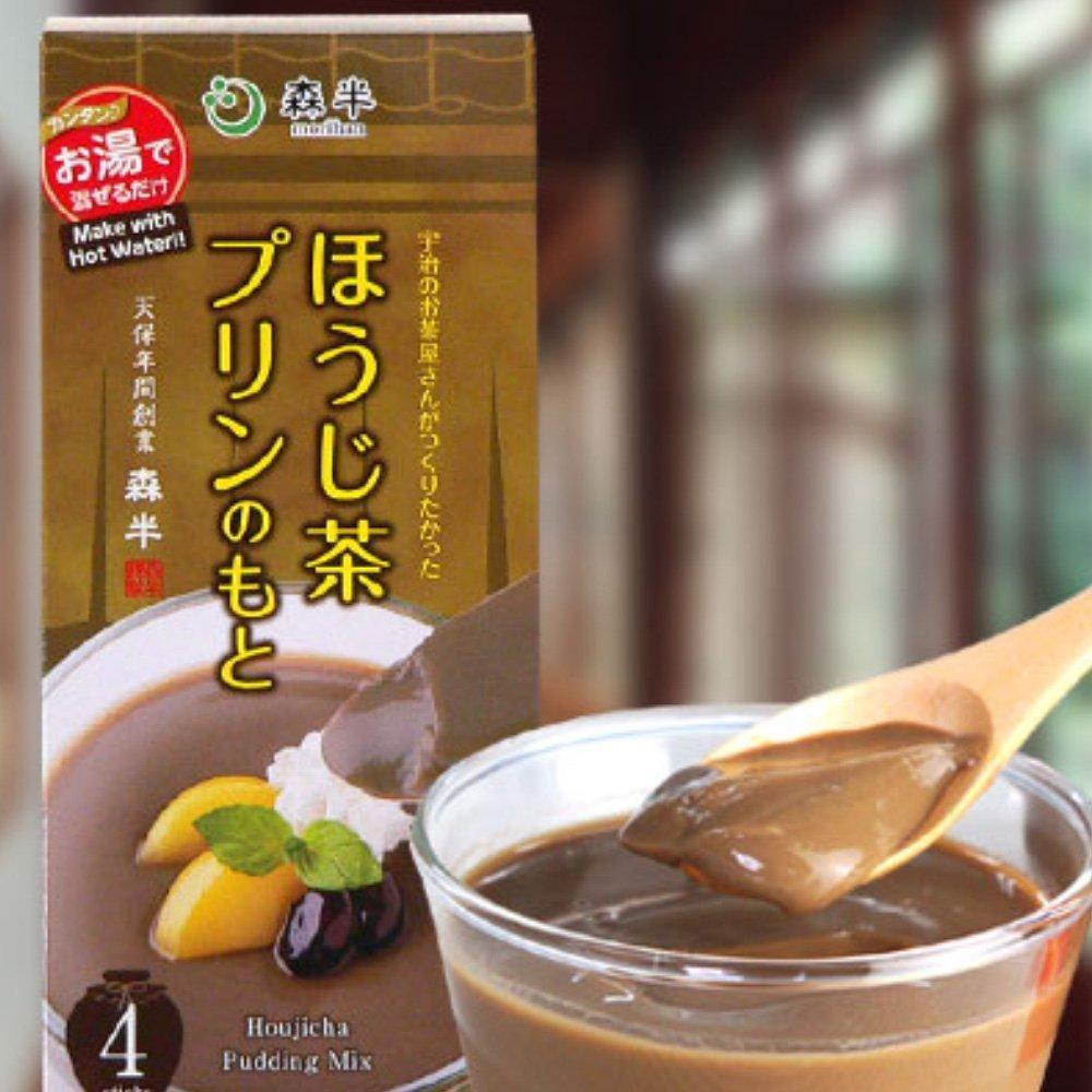 MORIHAN Hojicha Pudding Mix   Uji No Ochayasan Ga Tsukuritakatta Hojicha  Pudding No Moto
