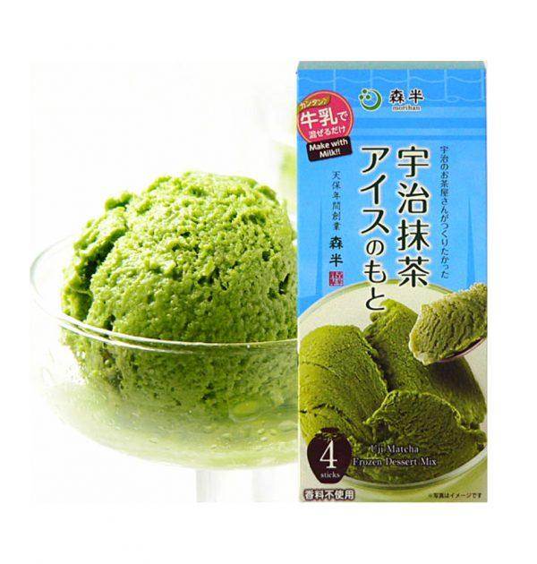 MORIHAN Matcha Green Tea Ice Cream Mix - Uji no Ochayasan ga Tsukuritakatta Matcha Ice no Moto