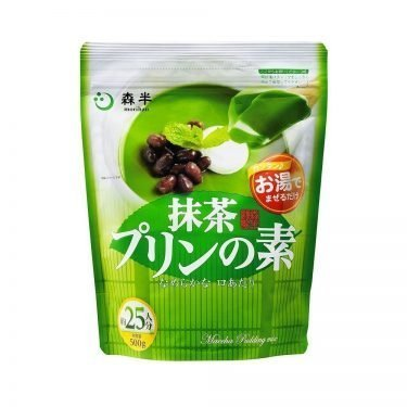 MORIHAN Matcha Pudding Mix - Industrial Size 500g 25 Servings